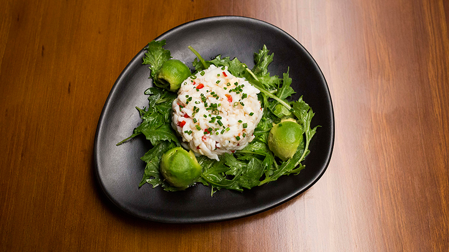 Nigella's Three-Course Dinner: Crab and Avocado Salad